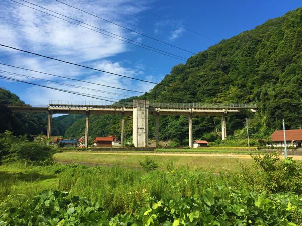 三江線宇都井駅