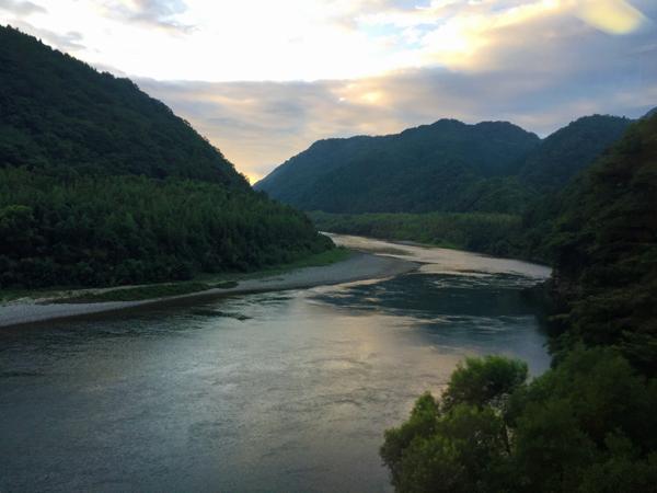 三江線江の川