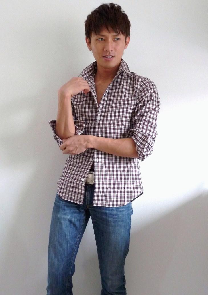 メンズカジュアルシャツ