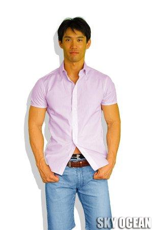 画像: 半袖シャツ02(ピンク)