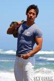 画像2: クルーネック半袖Tシャツ01(ネイビー )