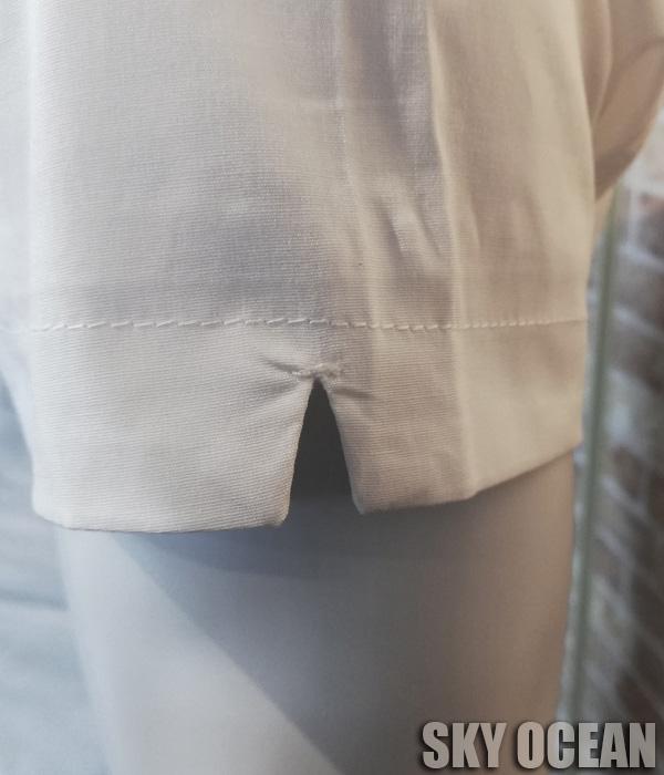 画像4: 半袖ストレッチシャツ01(ホワイト)