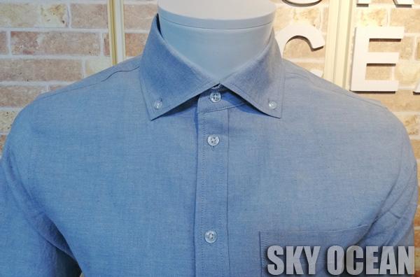画像4: 長袖ダンガリーシャツ02(水色)